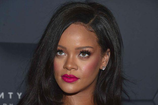 Rihanna, en septembre 2018