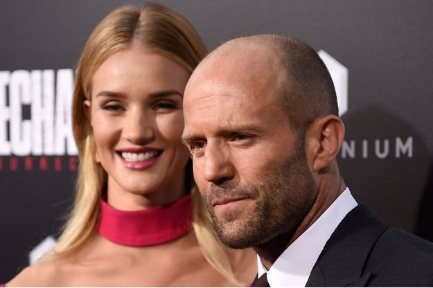 Jason Statham et Rosie Huntington-Whiteley