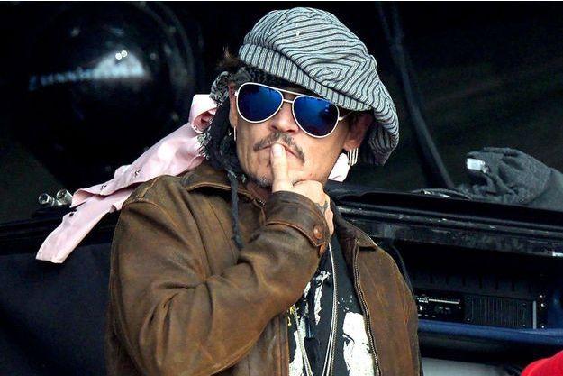 Johnny Depp en juin 2017.