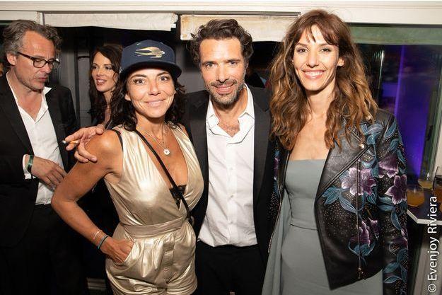 Sandra Sisley avec Nicolas Bedos et Doria Tillier