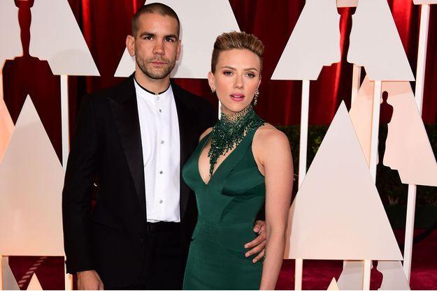 Scarlett Johansson et Romain Dauriac, au temps du bonheur.