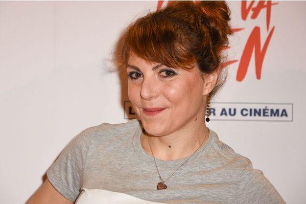 Anne-Élisabeth Blateau à Paris, le 26 février dernier.