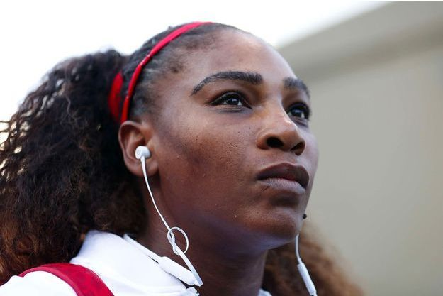 Serena Williams à San José, le 31 juillet 2018