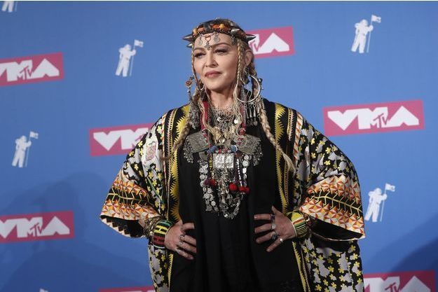 Madonna à New York, le 20 août 2018