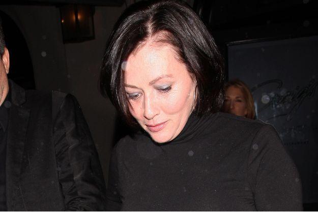 Shannen Doherty en mars 2018.