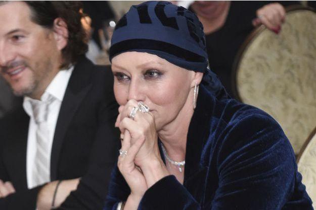 Shannen Doherty lors d'un gala à Los Angeles en novembre 2016.