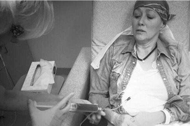 Shannen Doherty en chimiothérapie
