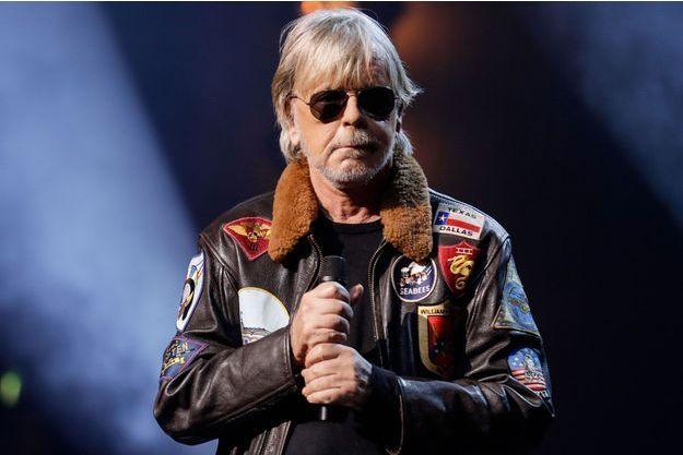 Renaud au Grands Prix Sacem 2018, en décembre dernier.