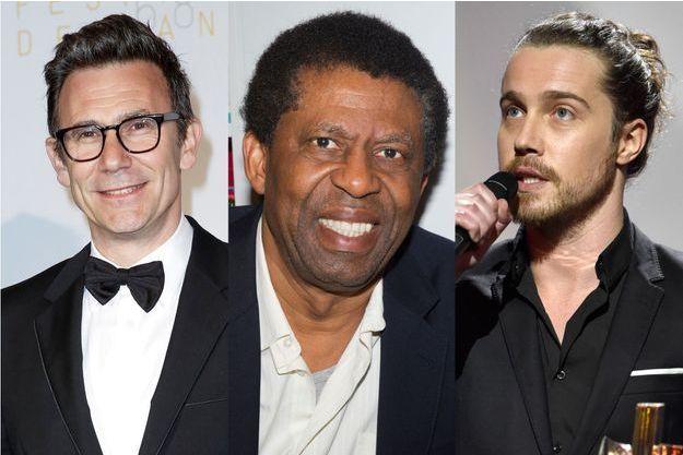 Michel Hazanavicius (G), Dany Laferrière (C), Julien Doré et bien d'autres ont tenu à rendre hommage aux victimes des attentats.