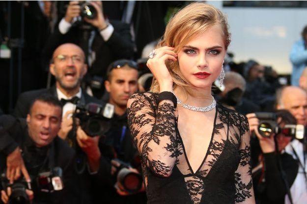 Cara Delevingne au Festival de Cannes le 15 mai dernier.