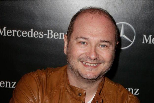 Sébastien Cauet à Paris, le 12 mars 2014.
