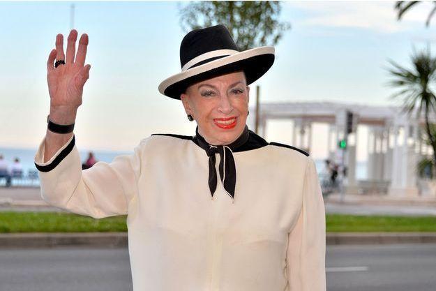 Geneviève de Fontenay à Nice en juin 2013