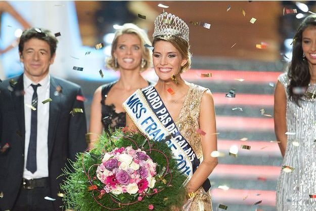 Miss Nord-pas-de-Calais, Camille Cerf, est Miss France 2015