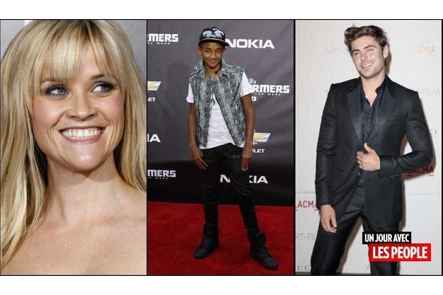 Reese Witherspoon, Jaden Smith et Zac Efron.