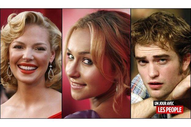 Katherine Heigl, Hayden Panettiere et Robert Pattinson