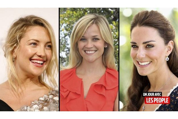 Kate Hudson, Reese Witherspoon et Kate Middleton
