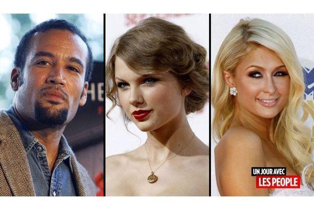 Ben Harper, Taylor Swift et Paris Hilton