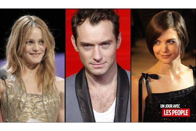 Vanessa Paradis, Jude Law et Katie Homes.