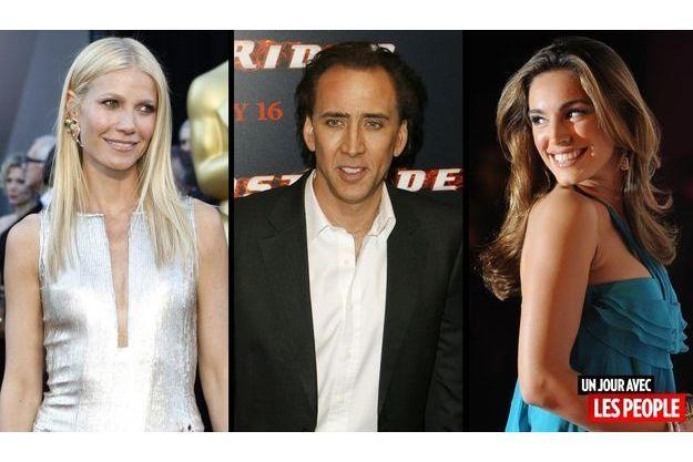 Gwyneth Paltrow, Nicolas Cage et Kelly Brook.