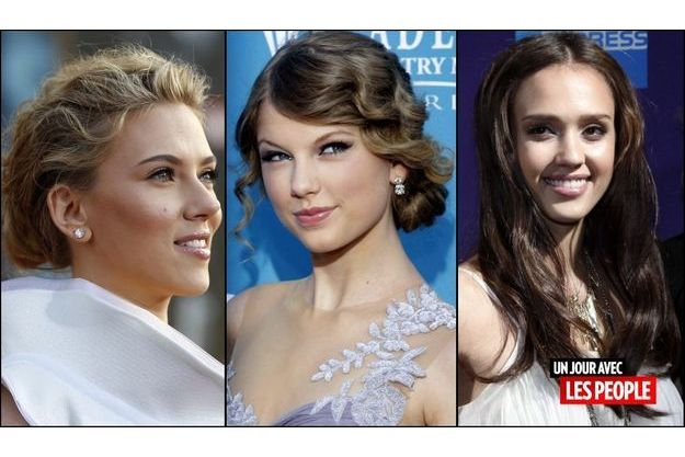 Scarlett Johansson, Taylor Swift, Jessica Alba,