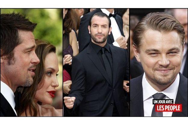 Angelina Jolie et Brad Pitt, Jean Dujardin, Leonardo DiCaprio