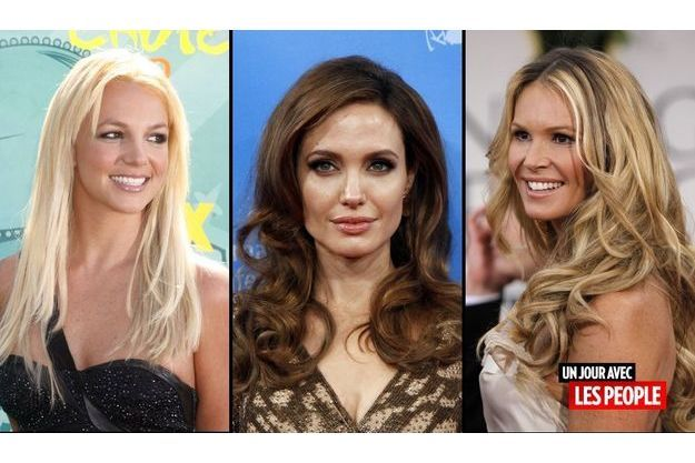 Britney Spears, Angelina Jolie et Elle Macpherson