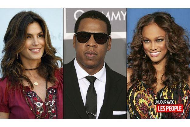 Cindy Crawford, Jay Z, Tyra Banks