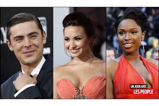 Zac Efron, Demi Lovato et Jennifer Hudson.