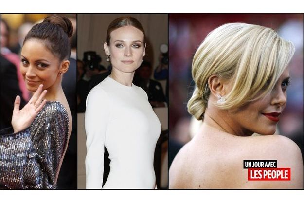 Nicole Richie, Charlize Theron, Diane Kruger