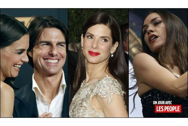 Katie Holmes et Tom Cruise, Sandra Bullock, Olivia Ruiz