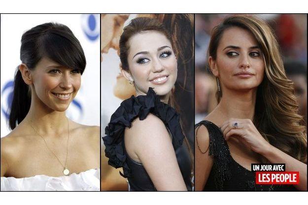 Jennifer Love Hewitt, Miley Cyrus, Penelope Cruz