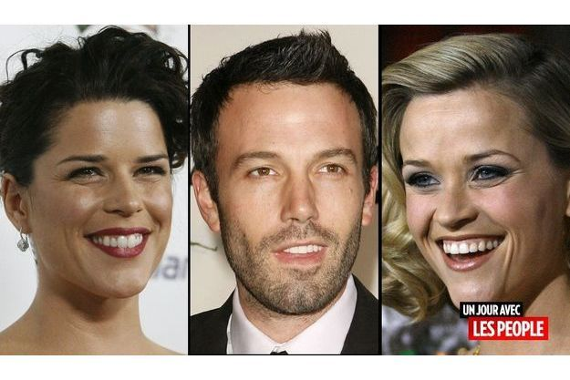 Neve Campell, Ben Affleck et Reese Witherspoon