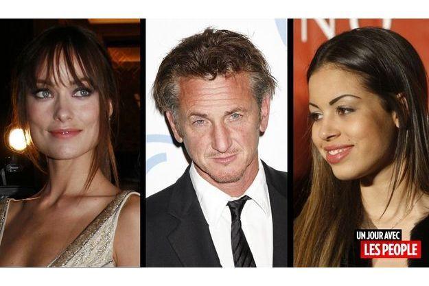 Olivia Wilde, Sean Penn et Ruby.