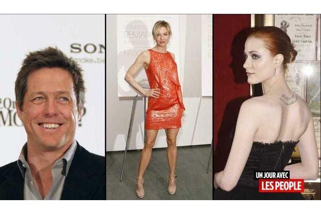 Hugh Grant, Renée Zellweger et Evan Rachel Woods