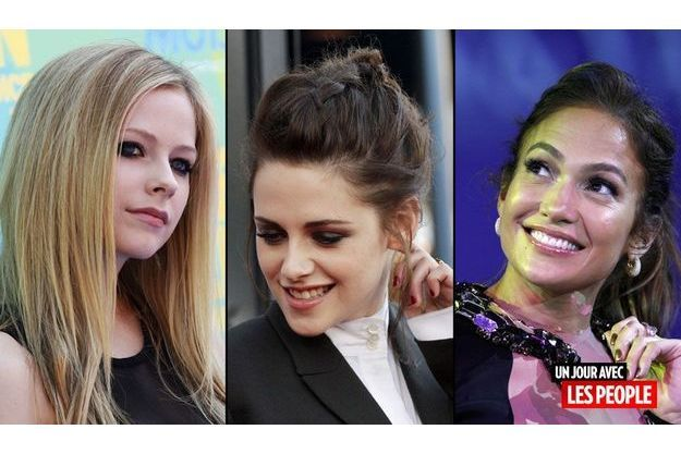 Avril Lavigne, Kristen Stewart, J-Lo