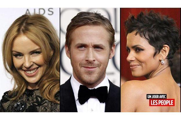 Kylie Minogue, Ryan Gosling et Halle Berry