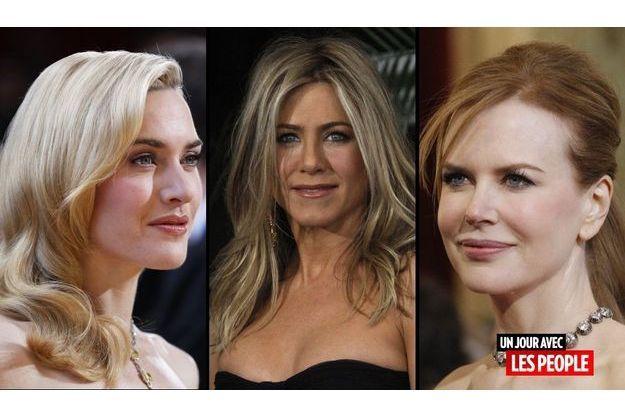 Kate Winslet, Jennifer Aniston et Nicole Kidman