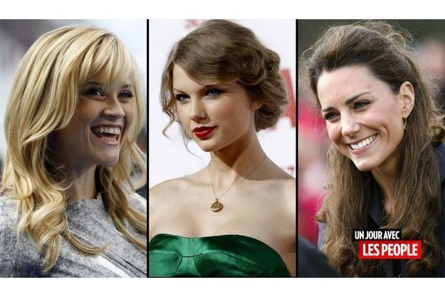 Reese Witherspoon, Taylor Swift et Kate Middleton