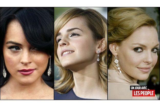 Lindsay Lohan, Emma Watson, Katherine Heigl