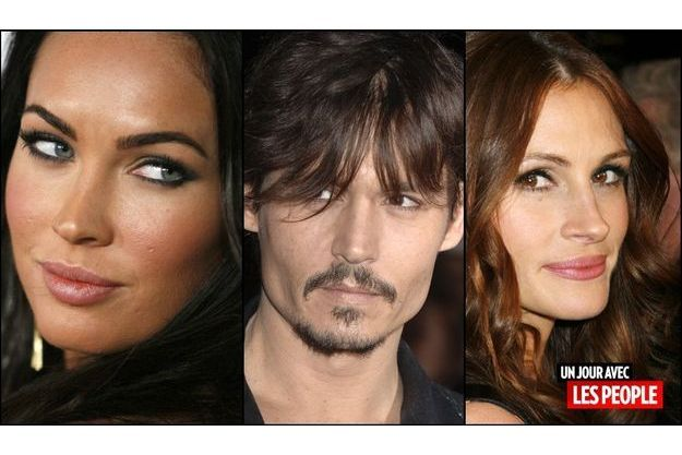 Megan Fox, Johnny Depp, Julia Roberts