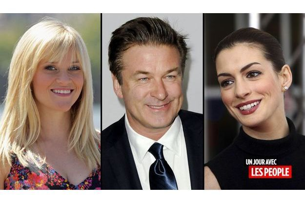 Alec Baldwin, Reese Witherspoon, Anne Hathaway