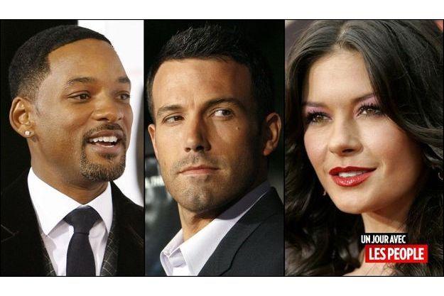 Will Smith, Ben Affleck et Catherine Zeta-Jones
