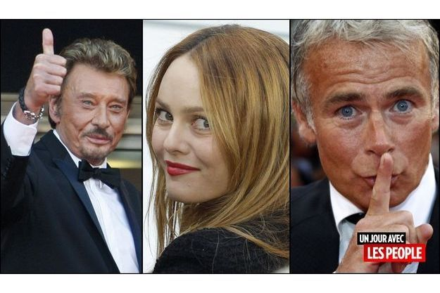 Johnny Hallyday, Vanessa Paradis, Franck Dubosc