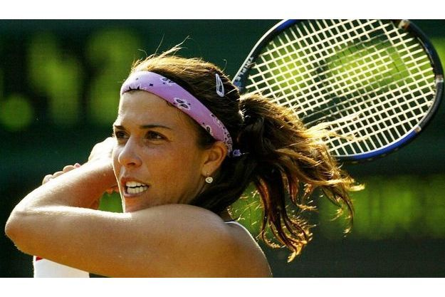 Jennifer Capriati à Wimbledon, en juin 2003