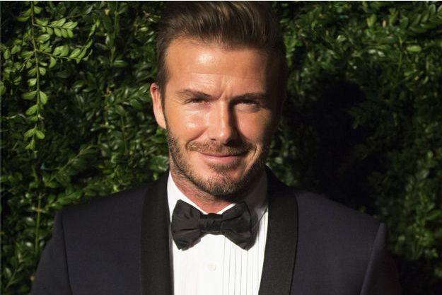 David Beckham à Londres en novembre 2014.