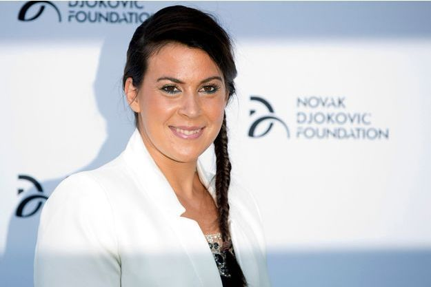 """Marion Bartoli, ancienne joueuse de tennis, pense que c'est Camille Muffat qui l'a remplacée au sein de l'émission """"Dropped"""" de TF1."""