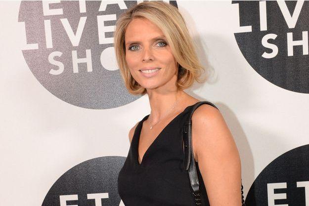 Sylvie Tellier au défilé Etam Lingerie en septembre dernier.