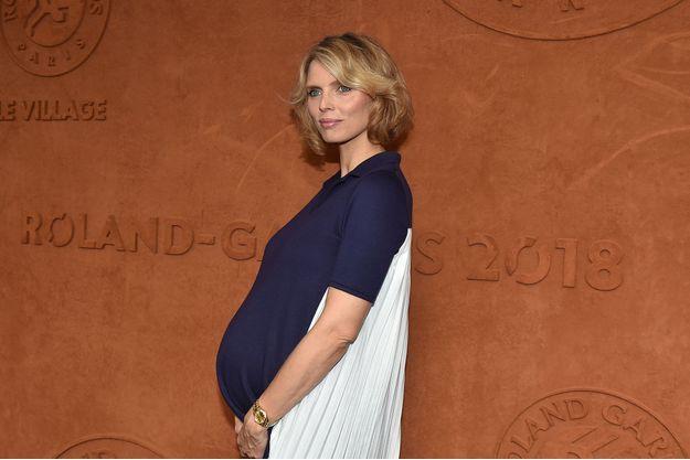 Sylvie Tellier à Roland-Garros, le 10 juin dernier.