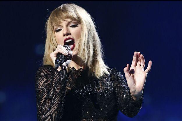 Taylor Swift en concert à Houston en février 2017.