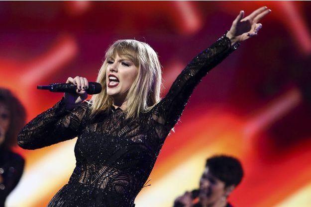 Taylor Swift en février 2017.